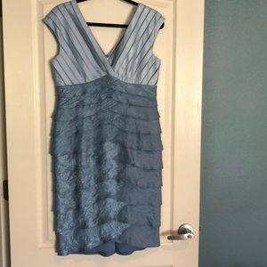 Fancy Mermaid Dress by Adrianna Papell